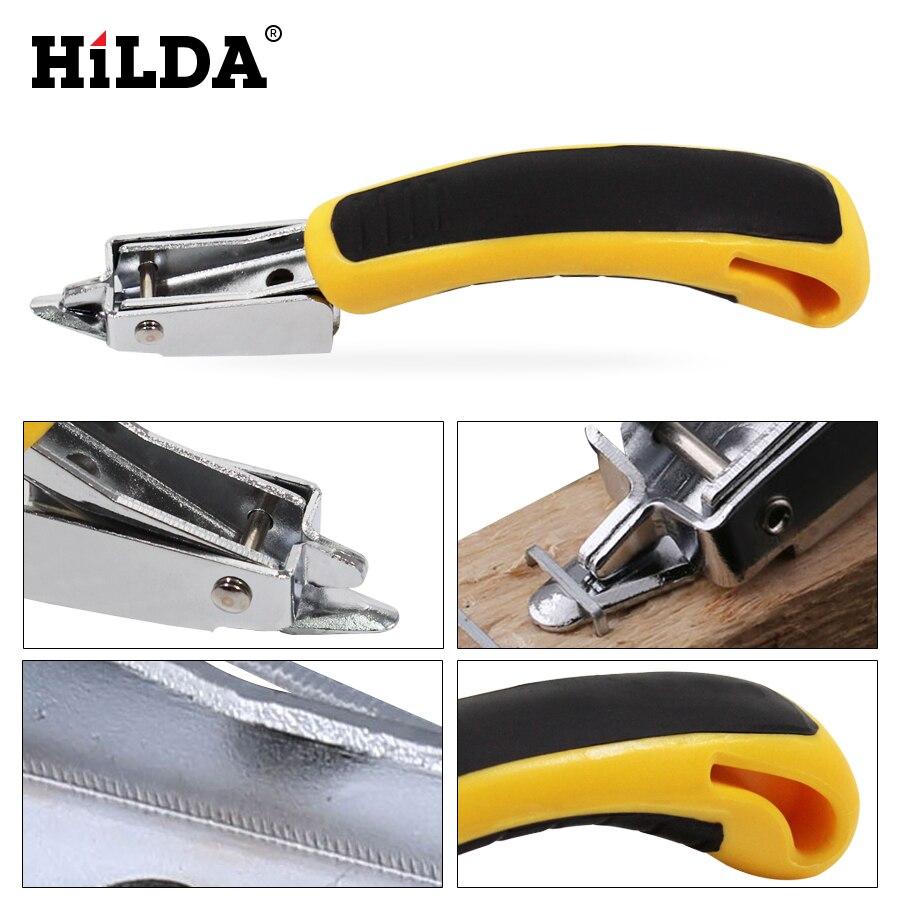 HILDA Multitool Nail Staple Gun Furniture Stapler For Wood Door Upholstery Framing Rivet Gun Kit Nailers Removing Tool(China)
