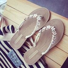 AVVVXBW Flip Flop 2017 Verano Deslizadores de Las Mujeres de Moda Pequeña Flor Pisos Sandalias Femeninas Zapatos Frescos Zapatillas de Playa de Gran Tamaño