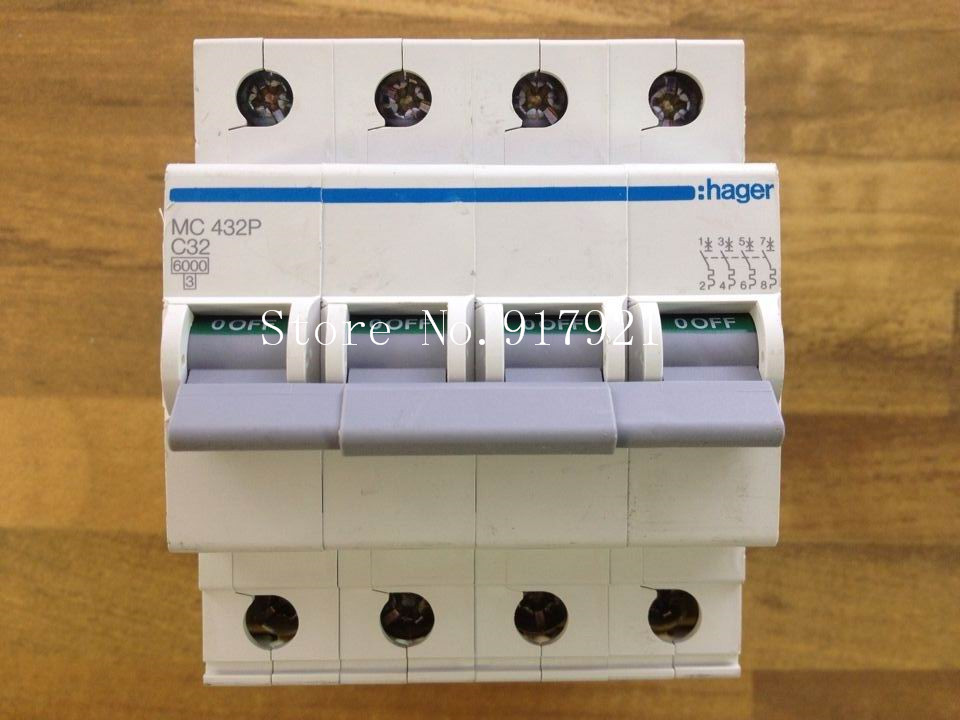[ZOB] Hagrid MC432P 4P32A miniature circuit breaker C32 to ensure genuine  --5pcs/lot 1206 4 3k 432 5