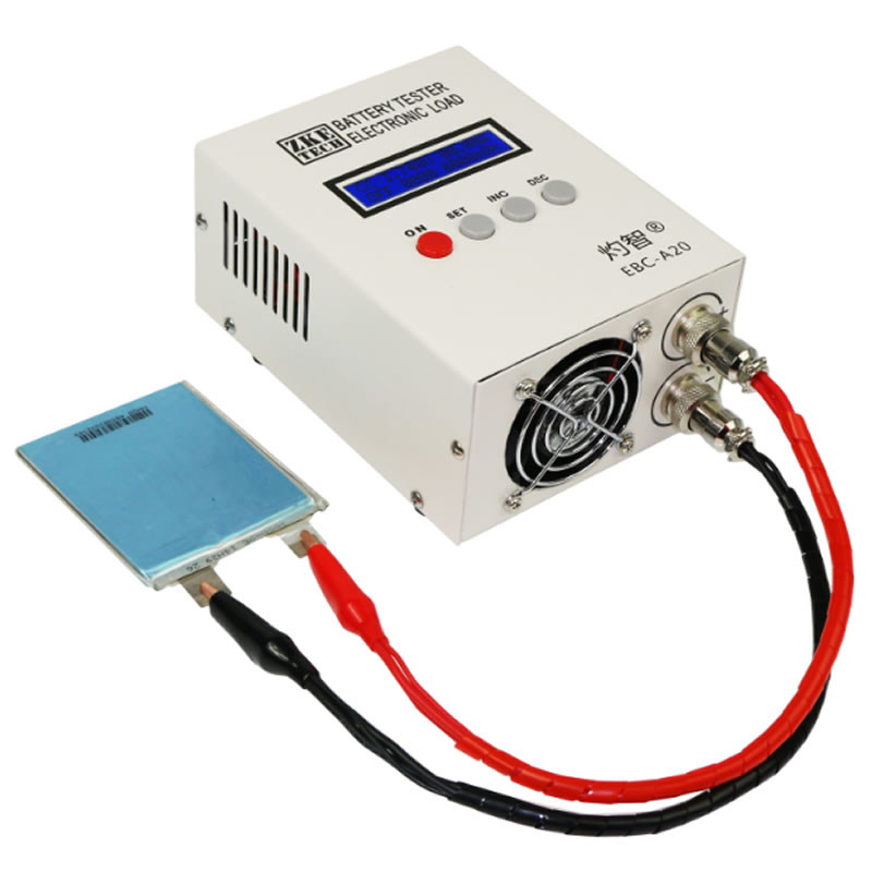 EBC A20 Electronic load Battery capacity tester Lithium iron and lithium ternary Charge and discharge instrument