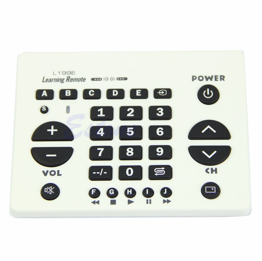 CHUNGHOP New For L199E Universal Smart Learning Remote Control Controller For TV VCD DVD VCR universal tv dvd vcd remote controller 2 aa