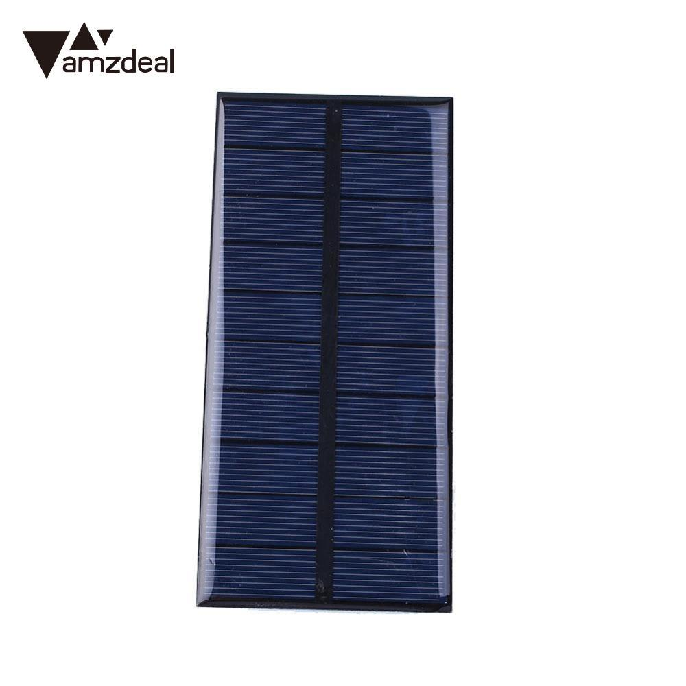 Computer & Office Impartial Amzdeal Dc 5v 1.5w Sunpower Solar Power Panel Diy Module For Cell Battery Charger Tablet Chargers