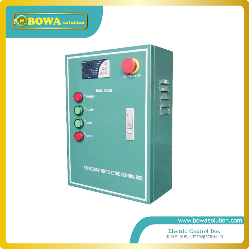 Bi-flow thermal expansion valve and automatic expansion valve are combined as throttle devices in heat pump water chillers