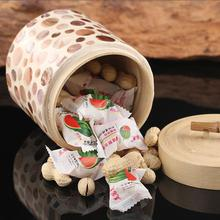 Wooden Storage Box Kitchen Bottles Jars Miscellaneous Grains Sealed Cans Food Tea Leaf Coffee Beans Candy