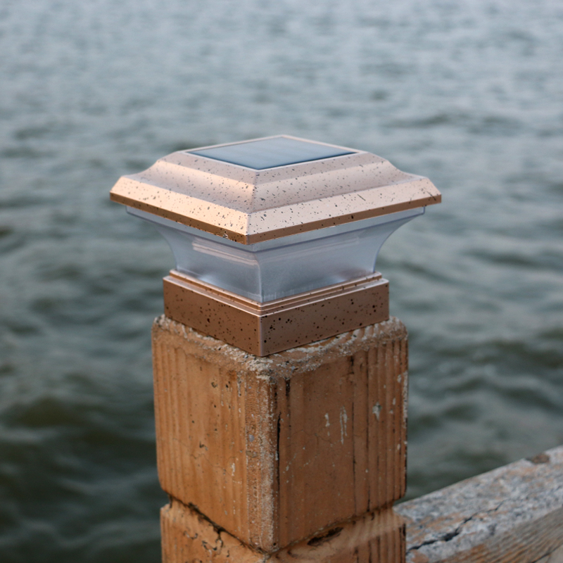 Led Lawn Lamps Latest Collection Of 4x4 Home Garden Solar Copper Post Deck Cap Square Fence Light Plastic Led 28lm Rechargeable Battery Solar Light Garden Decor Fast Color Lights & Lighting