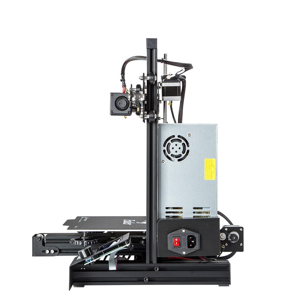 Новейшее обновление Ender-3 Pro CREALITY 3d принтер комплект с Cmagnetic Bulid стикер Resume Print power Off бренд источник питания