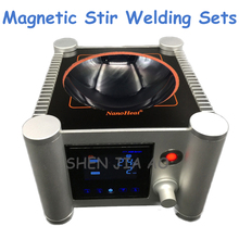 1pc 2000ml Laboratory Equipment Semi-Circular Magnetic Stir Welding Sets of Microcrystalline Ceramic Heating Uniform
