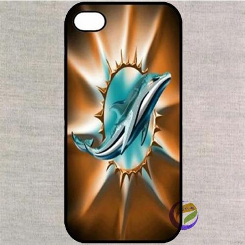Miami Dolphins Logo Football Bracelet