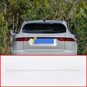 Stainless Steel For Jaguar E-Pace EPACE Car Chrome Exterior Tail Door Decoration Strip Trim Accessories