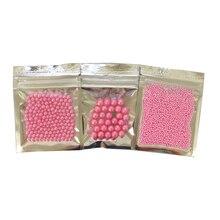 10g Piccolo 2 millimetri Perline Rosa Commestibile Perla una Palla Del Fondente Diy di Cottura Della Torta Del Silicone Del Cioccolato Decorazione di una Caramella argilla fai da te