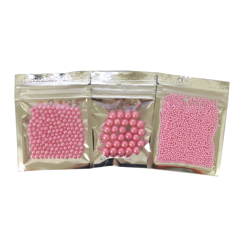 10g Small 2mm pink beads Edible pearl SUGAR BALL fondant DIY cake baking Silicone Chocolate decoration sugar candy fimo clay-in Clay Extruders from Home & Garden