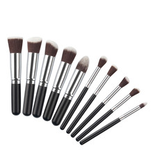 10PCS Makeup Brush Set Professional Make Up Beauty Blush Foundation Contour Powder Cosmetics Brush Makeup g6811