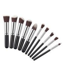 10PCS Makeup Brush Set Professional Make Up Beauty Blush Foundation Contour Powder Cosmetics Brush Makeup g6811