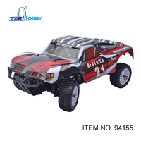 HSP RACING RC CAR SCT DESTRIER 1/10 SCALE NITRO POWER SHORT COURSE TRUCK 18CXP ENGINE WATER PROOF READY TO RUN (ITEM NO. 94155)