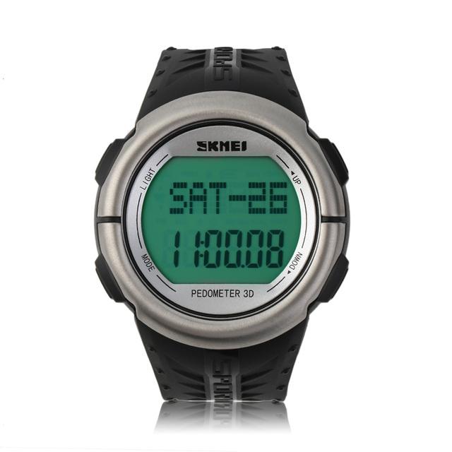 Skmei moda monitor de freqüência cardíaca esportes militares relógios de pulso led relógio digital à prova d' água relogio masculino new arrivals