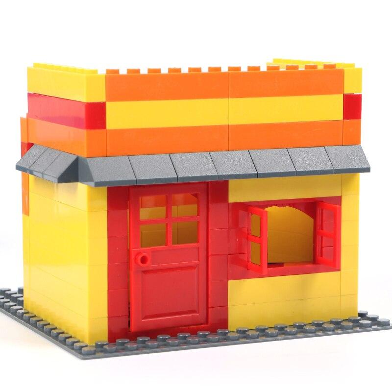 102pcs Door /& Window Brick House Building Blocks Toys City Architect For Child