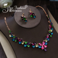 Multicolour Rhinestone The Bride Necklace Set Formal Dress Accessories Wedding Accessories