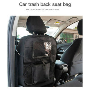 Image 4 - Auto Car Back Seat Hanging Bag Travel Storage Holder Organizer For Tablet Ipad Interior Stowing Tidying Bags Waterproof