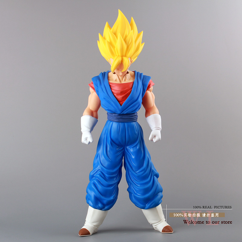 Free Shipping Dragon Ball Z Super Big Super Saiyan Vegito Vegeta PVC Action Figure Model Toy 36CM DBFG045 how to train your dragon 2 dragon toothless night fury action figure pvc doll 4 styles 25 37cm free shipping retail