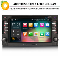 DAB + стерео Android 8,0 Sat Nav WiFi 4G gps радио DVR OBD Автомобильный мультимедийный плеер для Kia Rio Sorento Cerato Sportage карнавал CEED