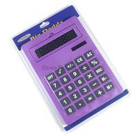 2017 New Office Handheld Calculator Large Solar Big Calculator 8 Digits A5 Size 5 Colors Cute