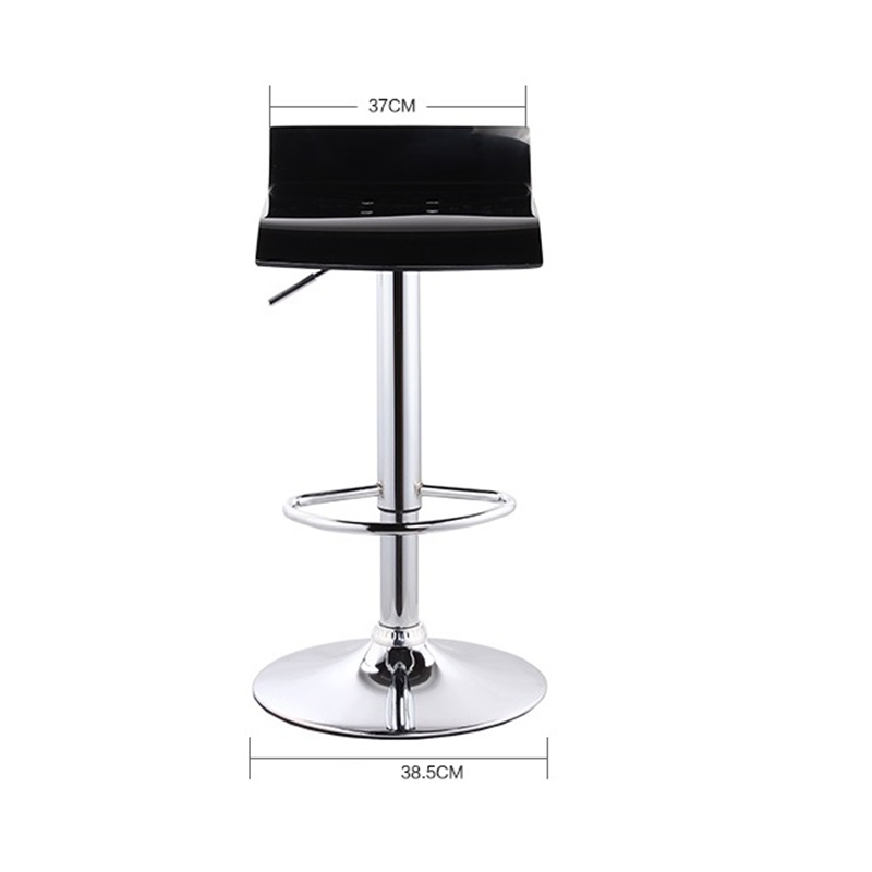cr lift bar acrylic products home front swivel simple high foot stool FREE SHIPPING european fashion simple lift bar stool high chairs reception swivel stools counter