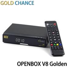V8 de Oro ayuda del Receptor de Satélite DVB-S2 + T2/Powervu Patch Cable soporte CCCAM IPTV Youtube Receptor de TV Por Satélite