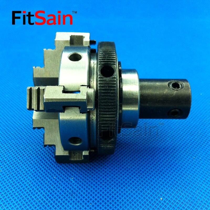 FitSain-négy állkapocs-tokmány D = 50mm CNC mini ÖNKÖZÖTT - Szerszámgépek és tartozékok - Fénykép 2