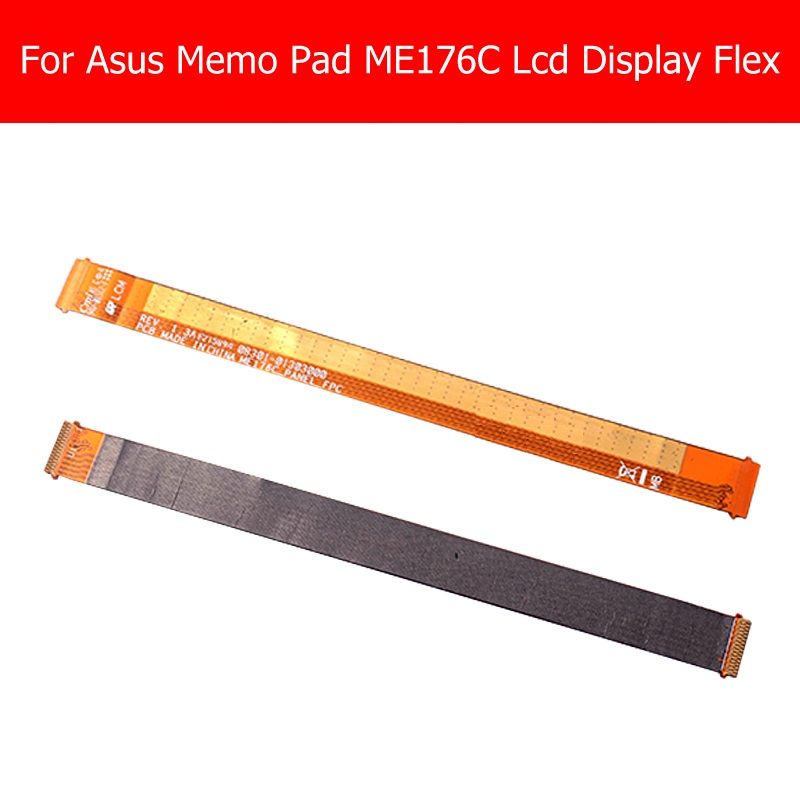 100% Genuine LCD Display Flex Cable For Asus Memo Pad 7 K013 Me176C LCD Panel Flex Cable For Asus me176C PCB LCM_FPC Flex cable