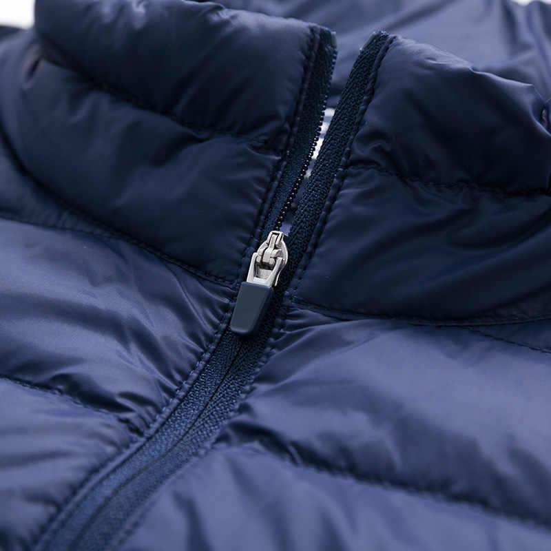 SEMIR пуховик для мужчин легкая теплая зимняя куртка мужская пуховая куртка портативная пуховая мужская ветрозащитная одежда Повседневная Верхняя одежда