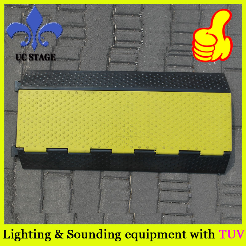 4 Channel outdoor event protector/ car ramps/ rubber cable protector