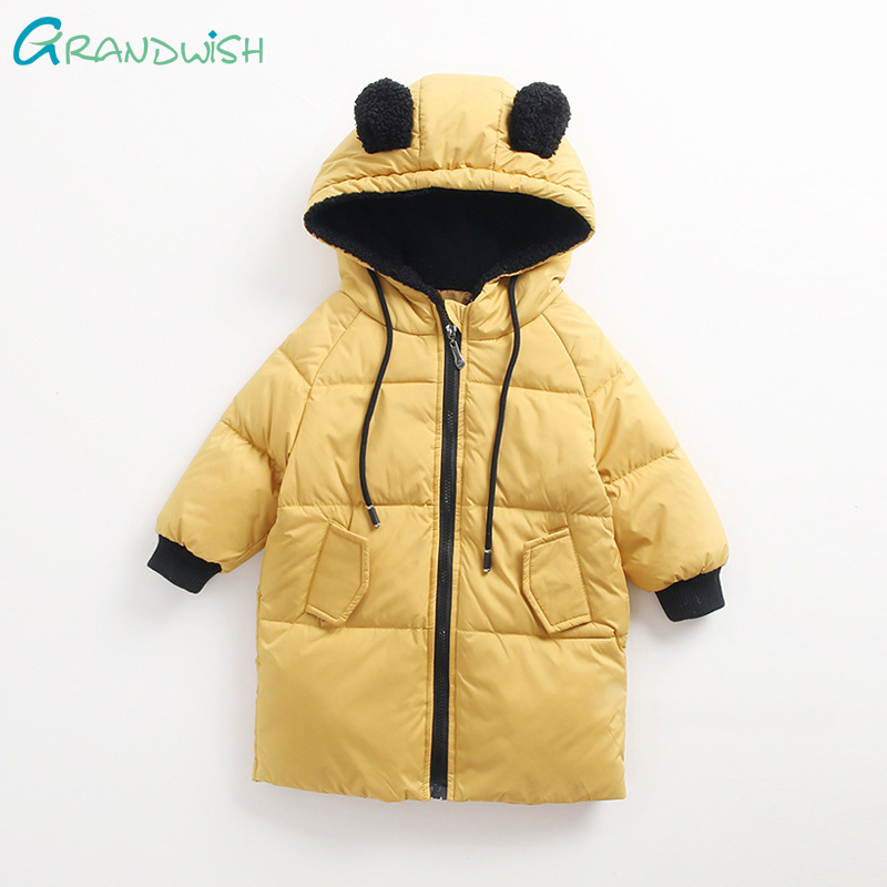 9aaf6e982749 0-4 years old Cute Bear Shape Design Baby Girl Jackets Winter Girls ...