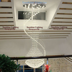 wholesales round  pendant light  crystal luxury modern lamp for staircase/hotel guaranteed  factory direct sales|modern lamp|round pendant lightsfactory pendant light -