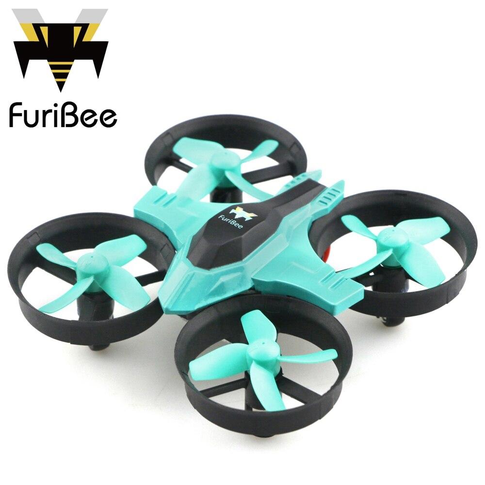 imágenes para FuriBee F36 RC Quadcopter Mini 2.4 GHz 4CH 6 Axis Gyro 360 grados flip Colorido LED RC Quadcopter con Cabeza/modo de Interruptor de Velocidad