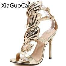 Brand American Made Women Pumps Gladitor Sexy Female High Heels Shoes  Fretwork Peep Toe Pumps Lu6 4a93a1868f47