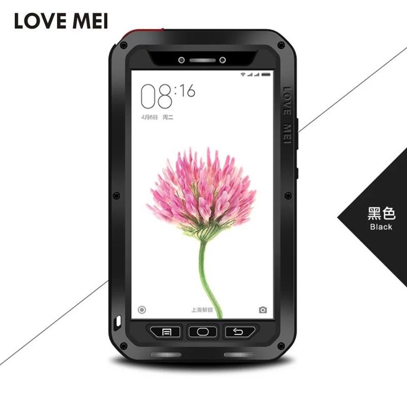 imágenes para Cubierta para Xiaomi mi Max/Mi Caja Del Teléfono Del Metal De Aluminio Caso de La Mezcla Original Lovemei Extreme Dropproof Mi Cubierta Max a prueba de golpes