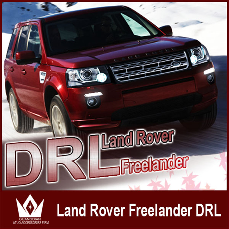 Night lord CAR-Specific For Land Rover Freelander2 2012-2014 DRL LED DRL Hightpower chip for Freelander2 Daytime running light oem lr041777 fits land rover l322 2006 2012 воздушный подвеска компрессорный насос