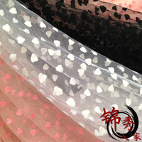 Black And White Pink Gauze Cloth Flocking Hard Wedding Dress Veil Veil Headdress Tutu DIY