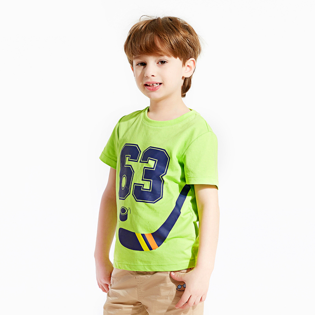2016 Soccer Shirt Boy Kids Meninos Roupas Clothing For Sport Child Summer Cotton Boys Sleeves Child Tshirts Kids 50H009