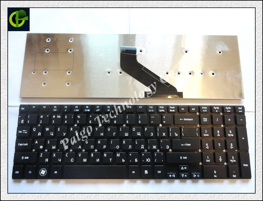 Russian Keyboard for Packard Bell EasyNote LV11 TV11-HC TV11-CM VA70 ACER Z5WE1 Z5WE3 V5WE2 V3-731G BLACK RU version цена 2017