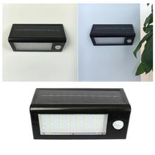 Solar Energy Street light Human body Induction Wall Lamp 32LED Highlight Garden Light