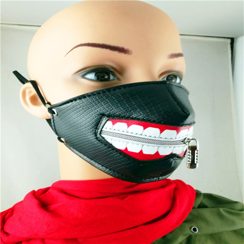 10pcs/Pack New Influx of People Performing Masks Ghoul Stage Masks Men And Women Personality Dustproof Windproof Masks