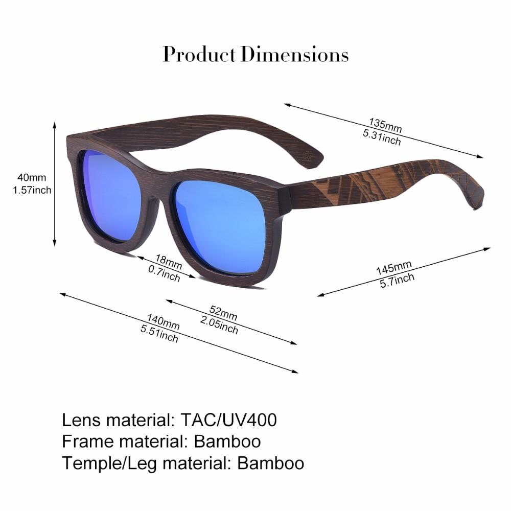 0e0bbc2ade0 VOBOOM Polarized UV400 Sunglasses Men Women Wooden Sun Glasses Engraving  Frame TA05 Brown-in Sunglasses from Apparel Accessories on Aliexpress.com