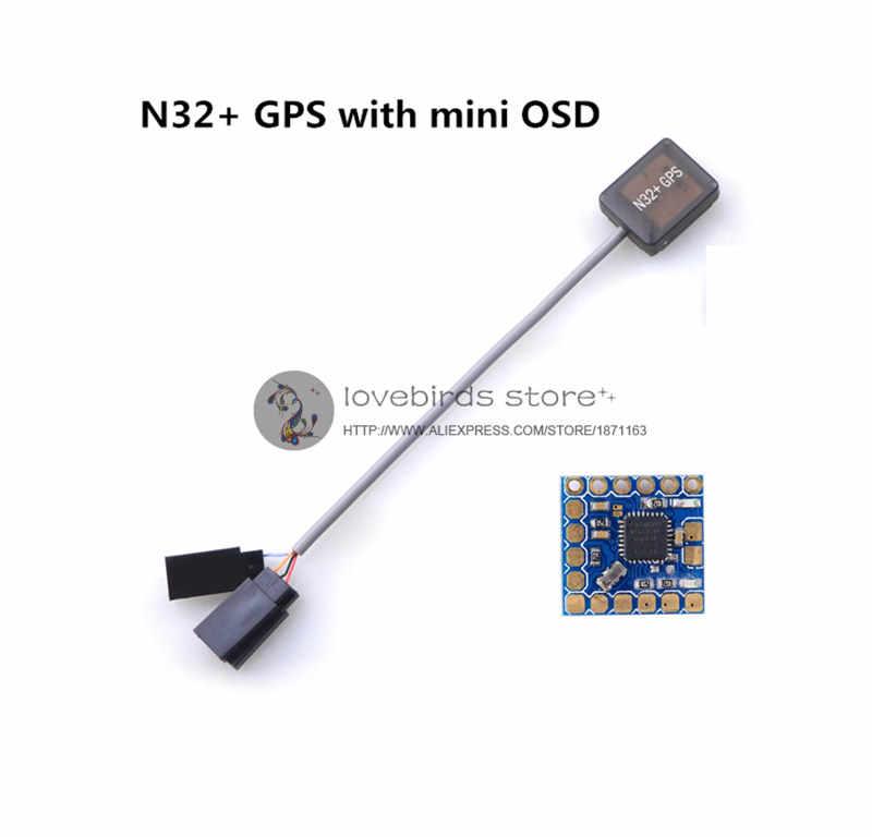 DIY mały quadcopter części CC3D rewolucji Mini NAZE32 ultra MINI GPS Ublox 7 jądra systemu + mini OSD zestaw