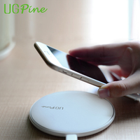 UGPine Bamboo Phone Wireless Charger Qi Wireless Charging Pad For Samsung Galaxy S7 S7 Edge Nokia