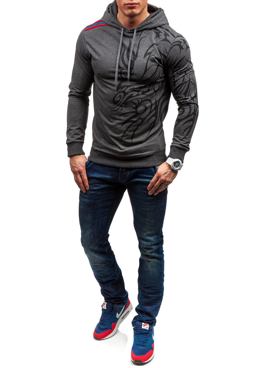 2017 Hoodies Men Hombre Hip Hop Mens Brand Letter Hooded Zipper Hoodie Sweatshirt Slim Fit Men Hoody Large Size 3XL Stylish Men's hoodies HTB1eWk0XWagSKJjy0Faq6z0dpXaX