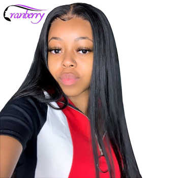 Cranberry Hair Wig Brazilian Lace Front Human Hair Wigs For Black Women Remy Straight Lace Front Wig Humain Hair Wigs - DISCOUNT ITEM  53% OFF All Category