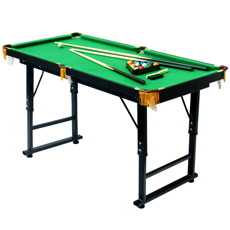 M Height Adjustable And Folding American Pool Table Biilard Table - Adjustable pool table