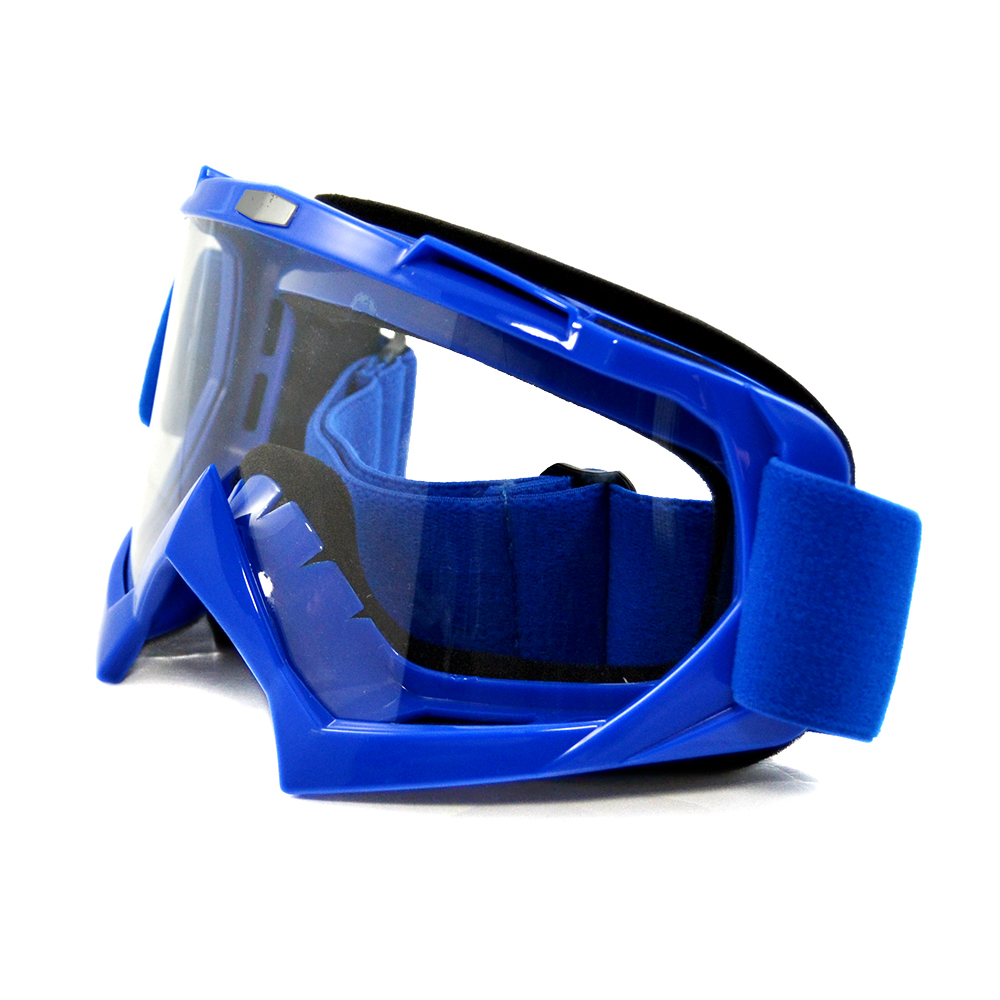 BJMOTO New Professional Adult Motocross Goggles Off-Road ATV Dirt Bike Glasses Motorcycle Goggles Eyewear Clear Lens Frame
