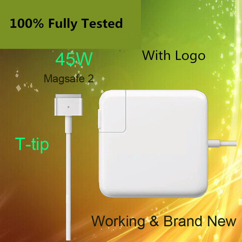 Crazy Cow 14.85V 3.05A for Magsafe 2 45W Power Adapter Charger for MacBook Air 11 13 A1465 A1436 A1466 A1435 new original magsafe 2 45w 14 85v 3 05a laptop power adapter charger for apple macbook air 11 13 a1465 a1436 a1466 a1435